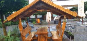 Pavillion Massivholz