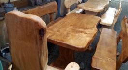 Massivholz Garnituren